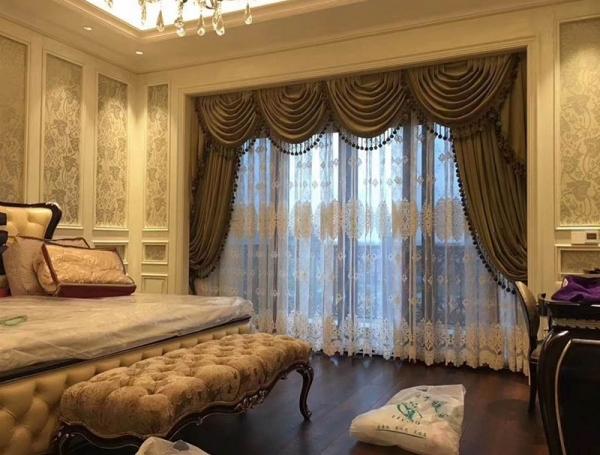 别墅遮光窗帘